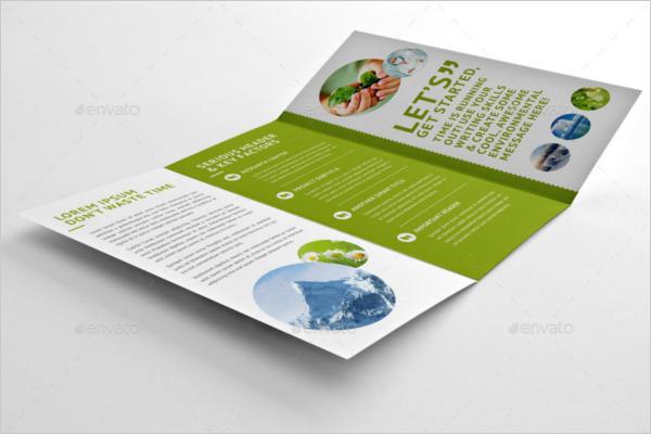 Tri-Fold Eco-Friendly Brochure Design