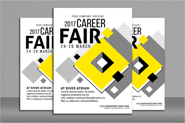 Unemployment Job Fair Flyer