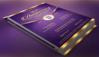 Anniversary Flyer PSD Templates