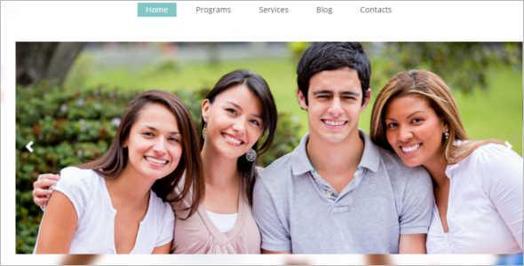 University Education Blog Template