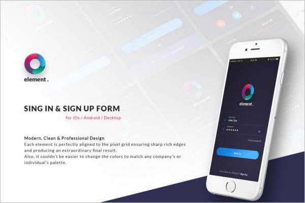 Updated Registration Login Forms