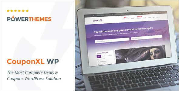 Vector Coupon WordPress Template