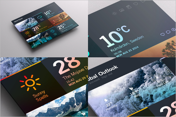 Vector Dashboard UI Kit Template