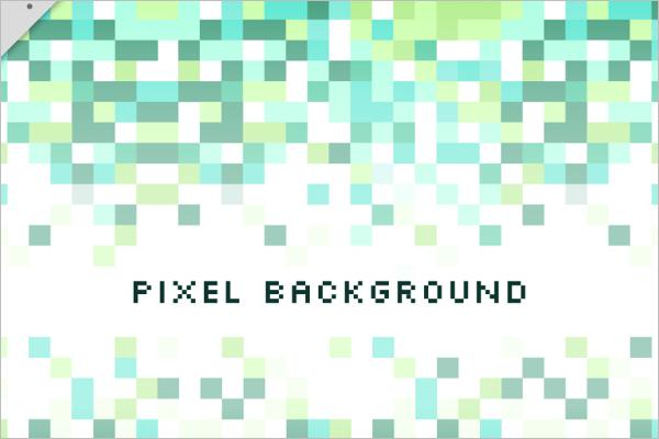 Vector Pixel Art Background