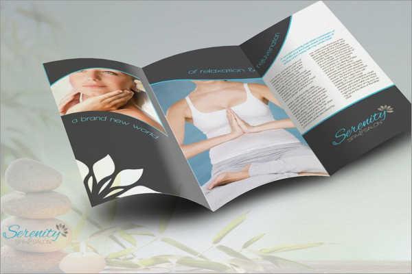 Vector Yoga Brochure Template
