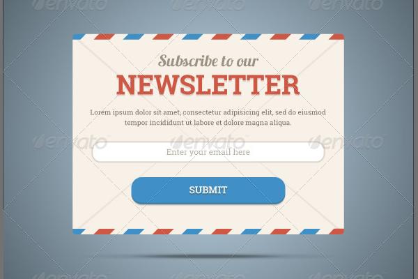 Web Form Interface Design Layout