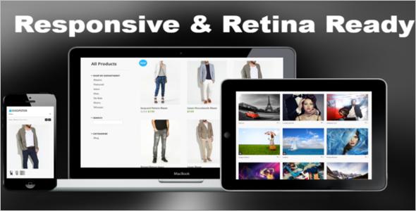 Web Online Shop Slider Template