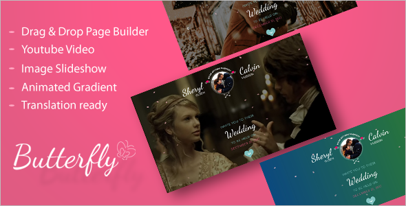 Wedding Couple Blog Template