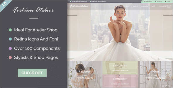 Wedding Gallery Blog Template