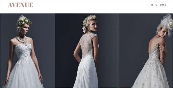 Wedding Opencart Blog Template