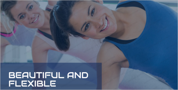 Womens Fitness Club Website Template