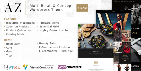 WooCommerce Retail WordPress Theme