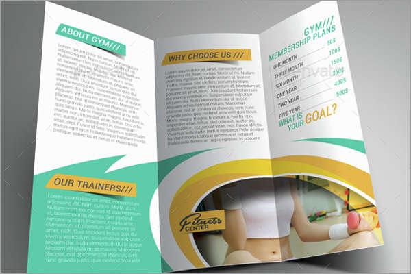 Yoga Center Brochure Template