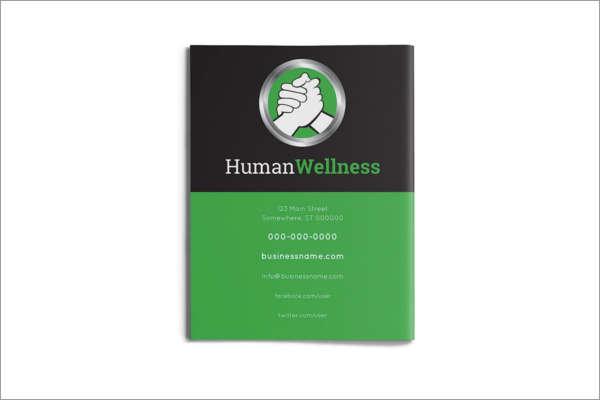 Yoga Healthcare Brochure Design