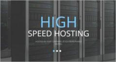 hosting template