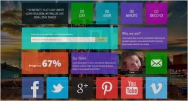web templates - Magazine cover