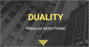Modx One Page Templates