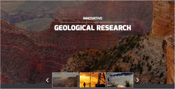 ndustrial Business Responsive Website Template