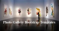 14+ Photo Gallery Bootstrap Templates