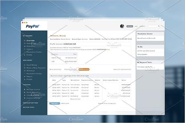 premium Dashboard UI Kit Template