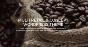 retail wordpress template
