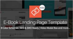 19+ Best EBook Landing Page Templates