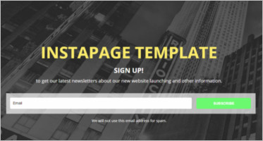 Multipurpose Instapage Templates