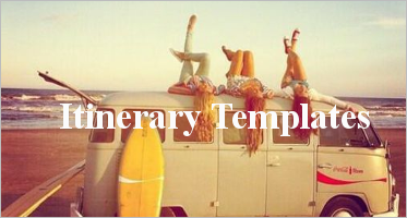 Itinerary Format Templates