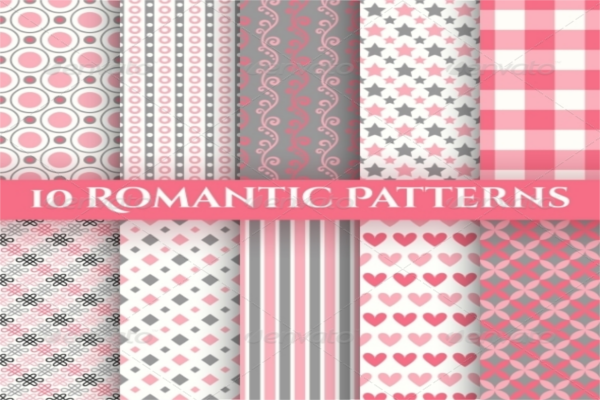 white Mixed Romantic Textures