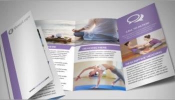 Yoga Brochure Templates