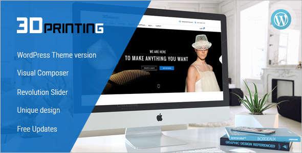 3D echnology WordPress Theme