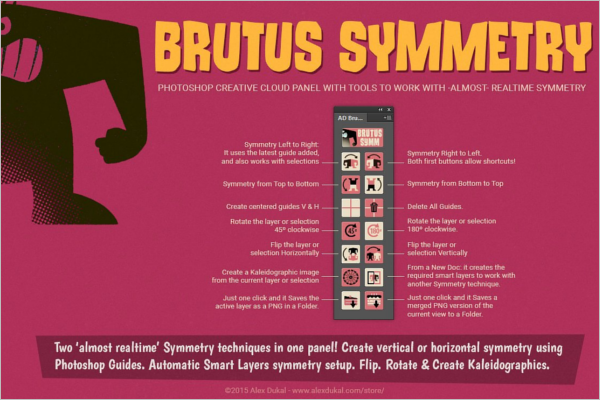 AD Brutus Symmetry Template