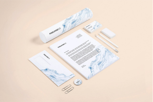 Abstract Sophisticated Template Ideas