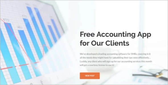 Accounting Corporate WordPress Template
