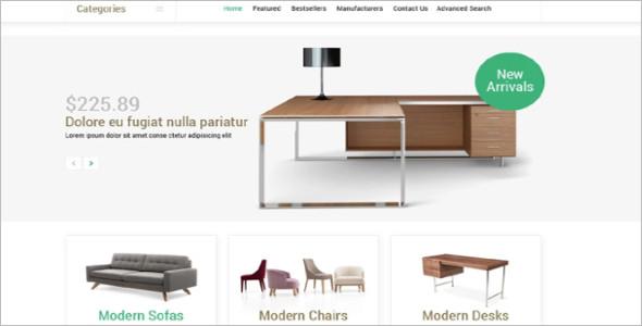 Aesthetic Design Furniture OsCommerce Template