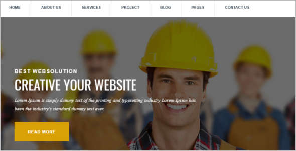 Agency Under Construction Template