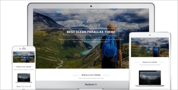 Agency WordPress Template