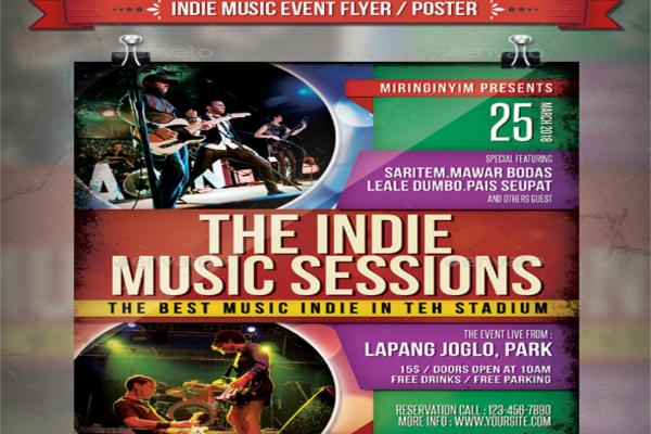Alternative Brand Event Flyer