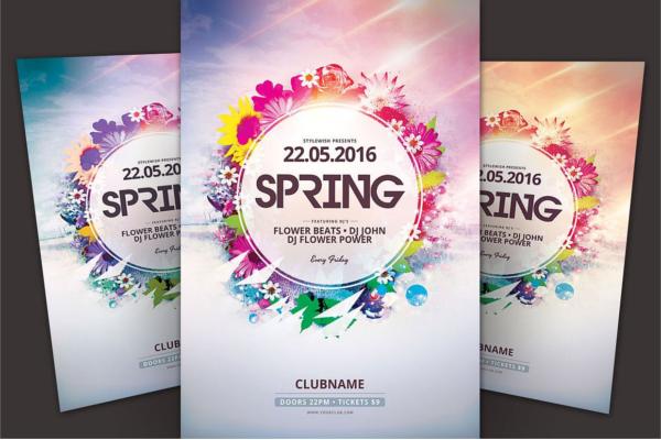 Alternative Spring Flyer Poster