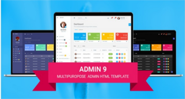 Amazing Html template for Admin