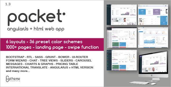Angular Bootstrap UI design