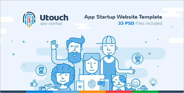 App Development Startup Website Template