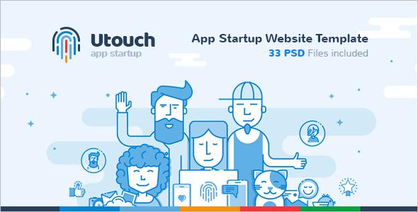 App Development Startup Website Template