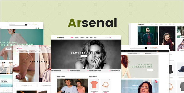 Apparel Shopify Template