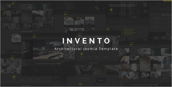 Architecture Building Agency Joomla Template