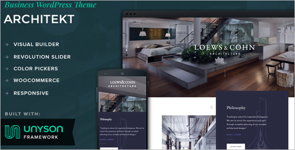 Architecture Google Slider Theme