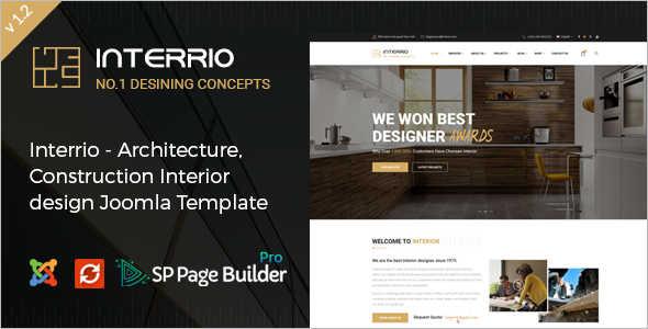 Architecture Joomla Design Template