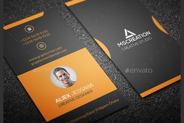 Awesome Business Card Flyer