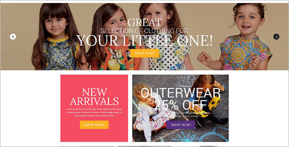 Baby Accessories OsCommerce Template