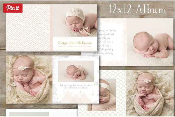 Baby Photo Album Design